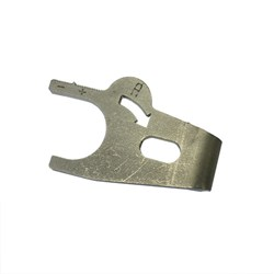 Distributor Hold-down Clamp, A+, Stainless