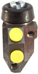 "Wheel Cylinder, 15/16"" RH, twin leading shoes, reproduction"