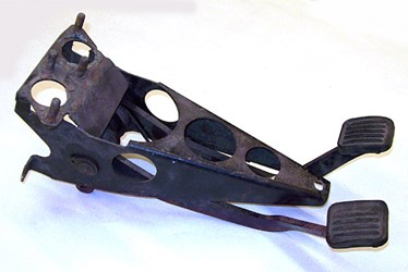 Pedal Assembly, Used, Early (SEVU0021) brake pedal, clutch pedal, pedals, Pedal Assembly, Used, Early (SEVU0021)