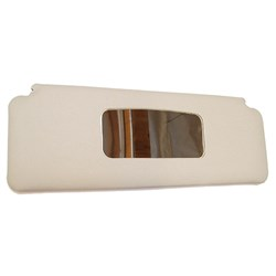 Sun Visor w/ Mirror,1970-on, Grey