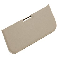 Sun Visor, Center Mount, Grey, 1950-1964