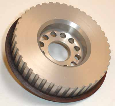 Belt Drive Cam Pulley, aluminum