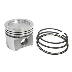 Piston, 1342cc 72.5 mm Big-bore, 9cc dish