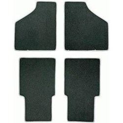 Floor Mat Set, 4-piece Deluxe, Saloon, 1959-73