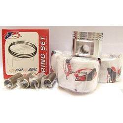 Piston Set, 1275cc, JE, Forged, 6 in Rod