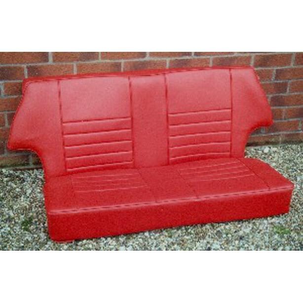 Rear Seat Assembly, All Saloons, Vinyl