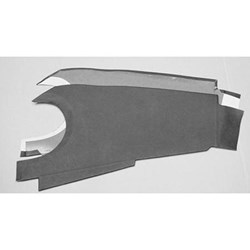 Dashboard Trim Panels, 1962-67, Oval Binnacle (DT3021)