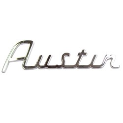 Boot Badge, Austin Script