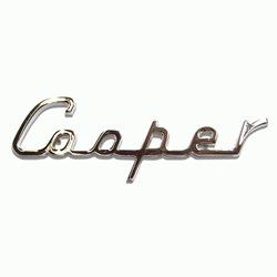Boot Badge, Cooper script