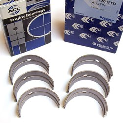 Main Bearing Set, 1275/1300, AE/ACL Lead Copper