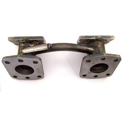 "Inlet Manifold, twin 1.5"" bore"
