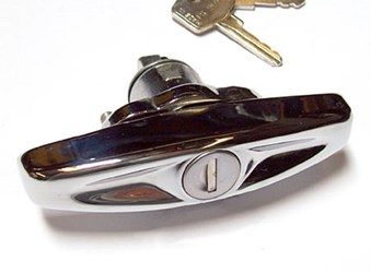 Boot Lid Handle, Mk3-on, chrome